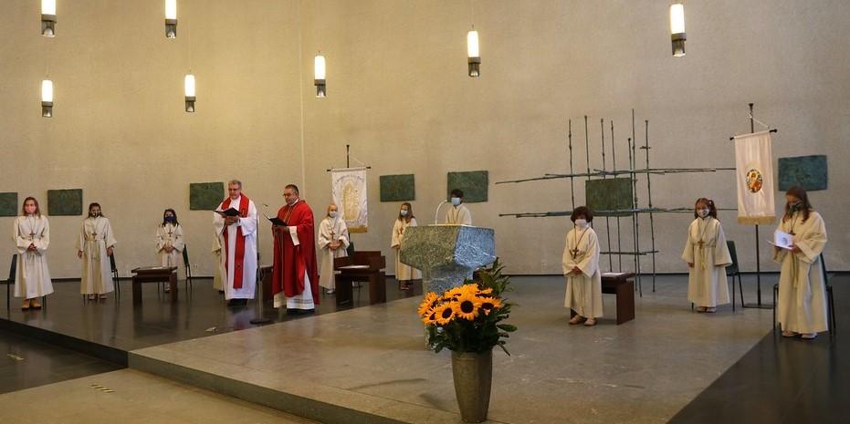 Búcsús szentmise Stuttgartban Szent Gellért ünnepén