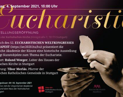 Kiállítás Stuttgartban az 52. Nemzetközi Eucharisztikus Kongresszus alkalmából