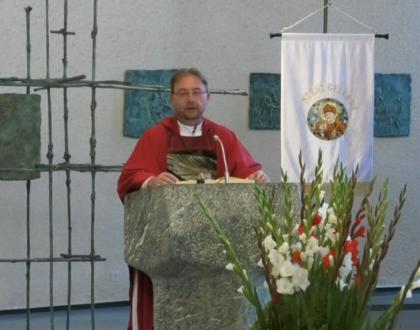 Szent Gellért Egyházközségi búcsús szentmise Stuttgartból